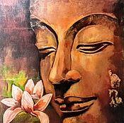 Картины и панно handmade. Livemaster - original item Picture: Buddha.Awaking.. Handmade.