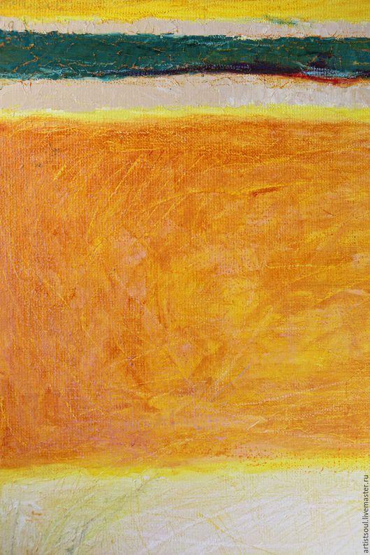Абстракция ручной работы. Ярмарка Мастеров - ручная работа. Купить Абстрактная живопись. Fiber.. Handmade. Желтый, искусство, офис, осень