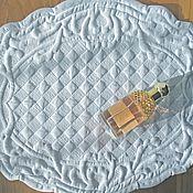 Для дома и интерьера handmade. Livemaster - original item Boutis oval napkin. Handmade.