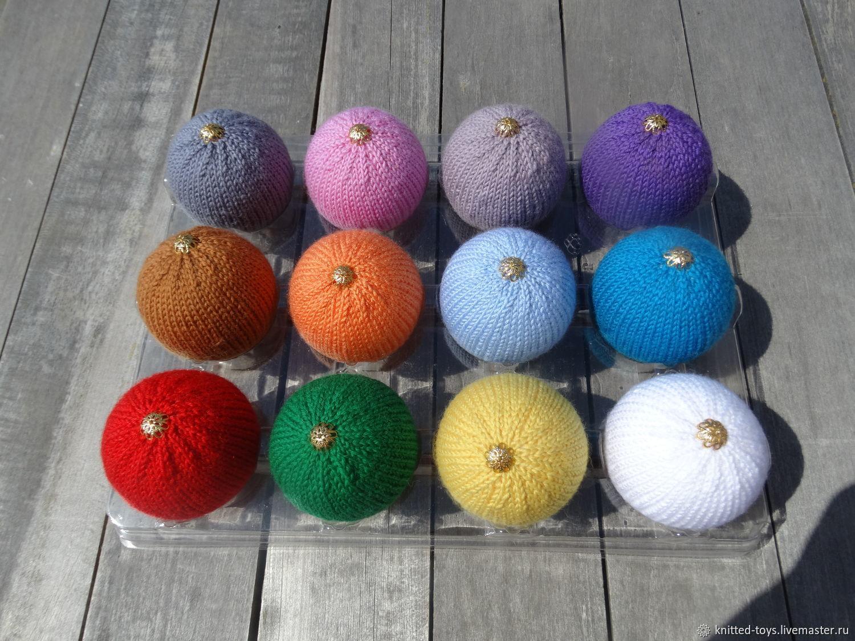 Разноцветные елочные шары, Елочные игрушки, Липецк,  Фото №1