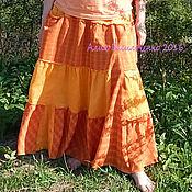 Одежда ручной работы. Ярмарка Мастеров - ручная работа Юбка Солнечная. Handmade.