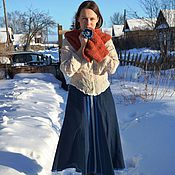 Одежда handmade. Livemaster - original item Denim skirt. Handmade.