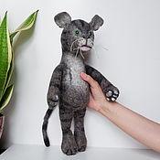 Куклы и игрушки handmade. Livemaster - original item Felted cat doll. Soft, squeezy toy.. Handmade.