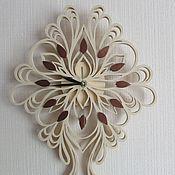 Для дома и интерьера ручной работы. Ярмарка Мастеров - ручная работа Часы Кружевные. Handmade.
