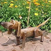Для дома и интерьера ручной работы. Ярмарка Мастеров - ручная работа собака, друг человека. Handmade.