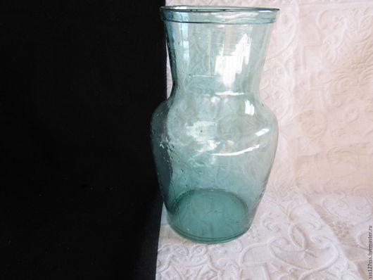 Винтажная посуда. Ярмарка Мастеров - ручная работа. Купить (50-9-В) Крынка для молока стекло старинная 1,7 л 50-е г.г.ВИНТАЖ. Handmade.