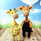 Куклы и игрушки handmade. Livemaster - original item Giraffes Zhorik and Borik. Handmade.