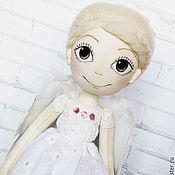 """Куклы и пупсы ручной работы. Ярмарка Мастеров - ручная работа """"Ангел рядом"""". Интерьерная кукла. Текстильная кукла. Авторская кукла. Handmade."""