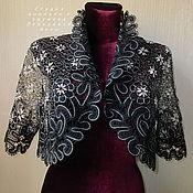 Одежда ручной работы. Ярмарка Мастеров - ручная работа Жакет-болеро 5 Вятское кружево. Handmade.