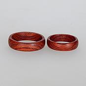 Украшения handmade. Livemaster - original item Wooden rings, narrow.. Handmade.
