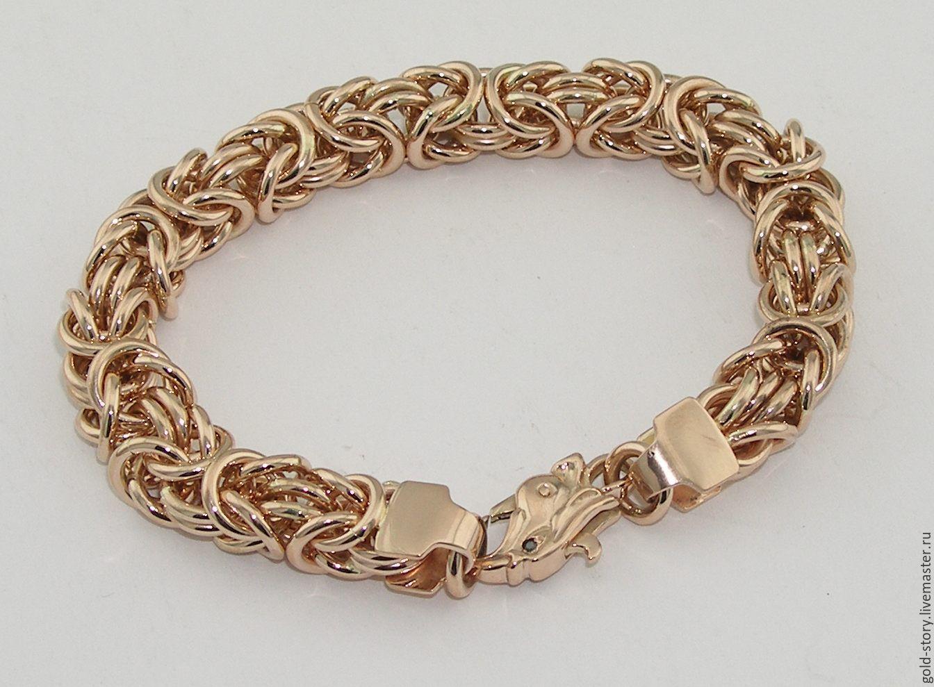 Золотые браслеты плетение картинки