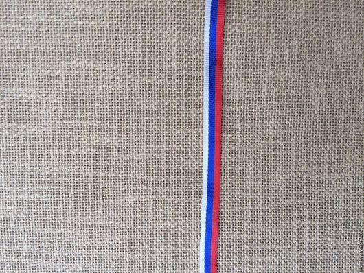 Шитье ручной работы. Ярмарка Мастеров - ручная работа. Купить лента триколор 10 мм. Handmade. Лента декоративная