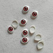Материалы для творчества handmade. Livemaster - original item The convex doll eyes 16 mm brown pair. Handmade.
