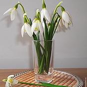 Цветы и флористика handmade. Livemaster - original item Snowdrops