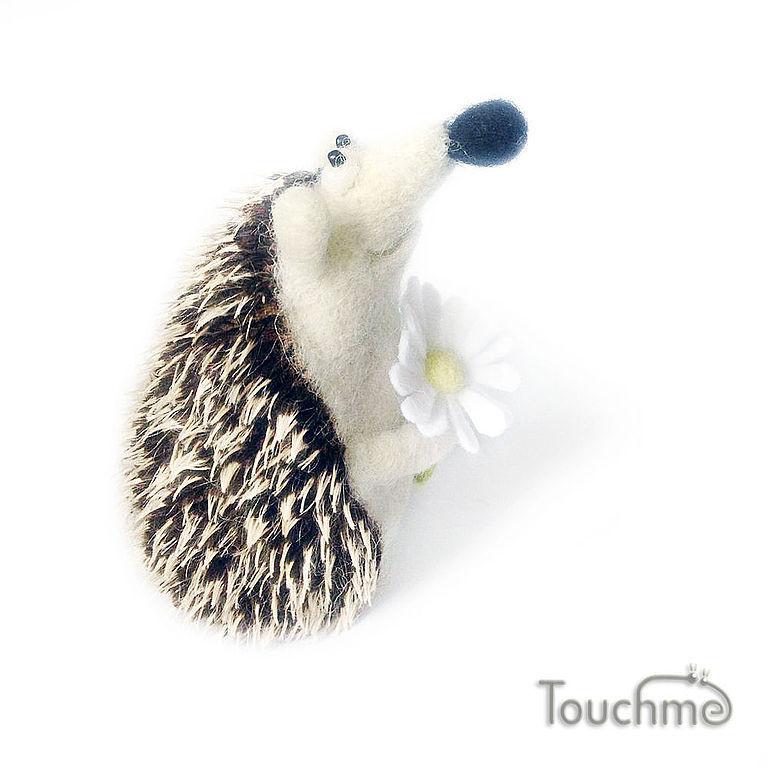 Hedgehog with Camomile, Stuffed Toys, Elektrostal,  Фото №1