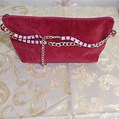 Клатчи ручной работы. Ярмарка Мастеров - ручная работа Клатчи: Красный клатч. Handmade.