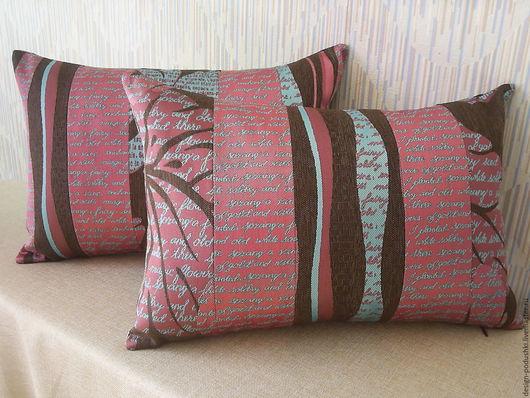 Декоративные подушки `Красиво вдвойне`