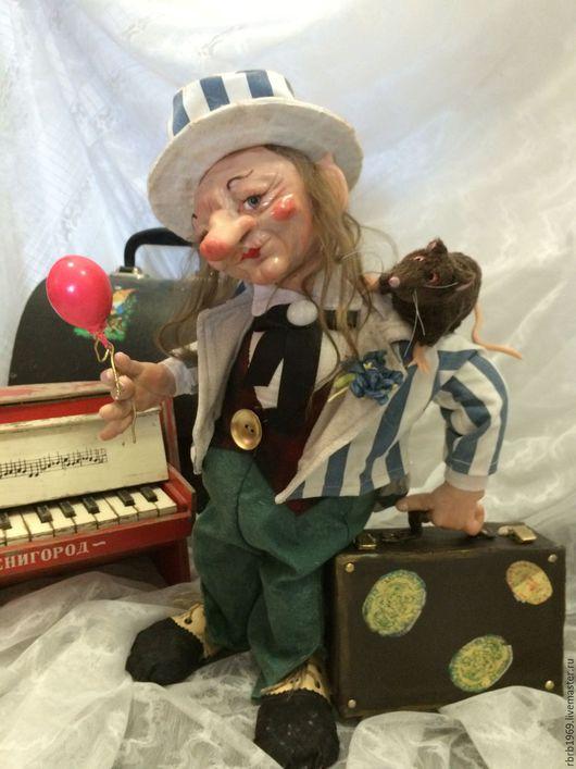 Коллекционные куклы ручной работы. Ярмарка Мастеров - ручная работа. Купить Троль-ля-ля)). Handmade. Пластика