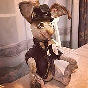 Куклы и игрушки ручной работы. Ярмарка Мастеров - ручная работа Видео МК по Кролику. Handmade.
