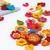 Цветы и флористика ручной работы. Ярмарка Мастеров - ручная работа Цветы крючком. Handmade.