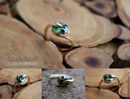 Кольца ручной работы. Ярмарка Мастеров - ручная работа. Купить Кольцо Змейка (возможно изготовление из серебра или золота). Handmade.