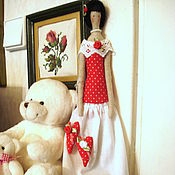 Куклы и игрушки handmade. Livemaster - original item Dolls Tilda: Interior doll Tilde Keeper of Hearts. Handmade.