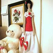 Куклы и игрушки ручной работы. Ярмарка Мастеров - ручная работа Интерьерная кукла Тильда Хранительница Сердец. Handmade.