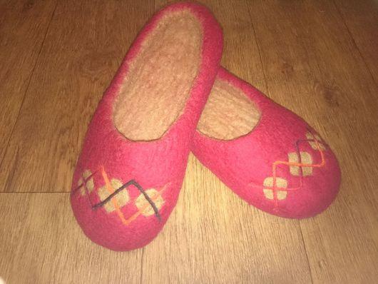 Обувь ручной работы. Ярмарка Мастеров - ручная работа. Купить Тапки Ногогреечки. Handmade. Тапочки, тапки, валяная обувь