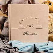 Фотоальбомы ручной работы. Ярмарка Мастеров - ручная работа Фотоальбом для малыша (В наличии). Handmade.