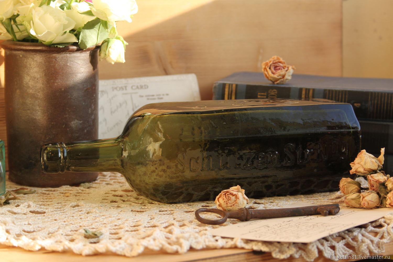 Винтаж: Старинная бутылка A.Gilka Berlin (Германия), Предметы интерьера винтажные, Калининград,  Фото №1