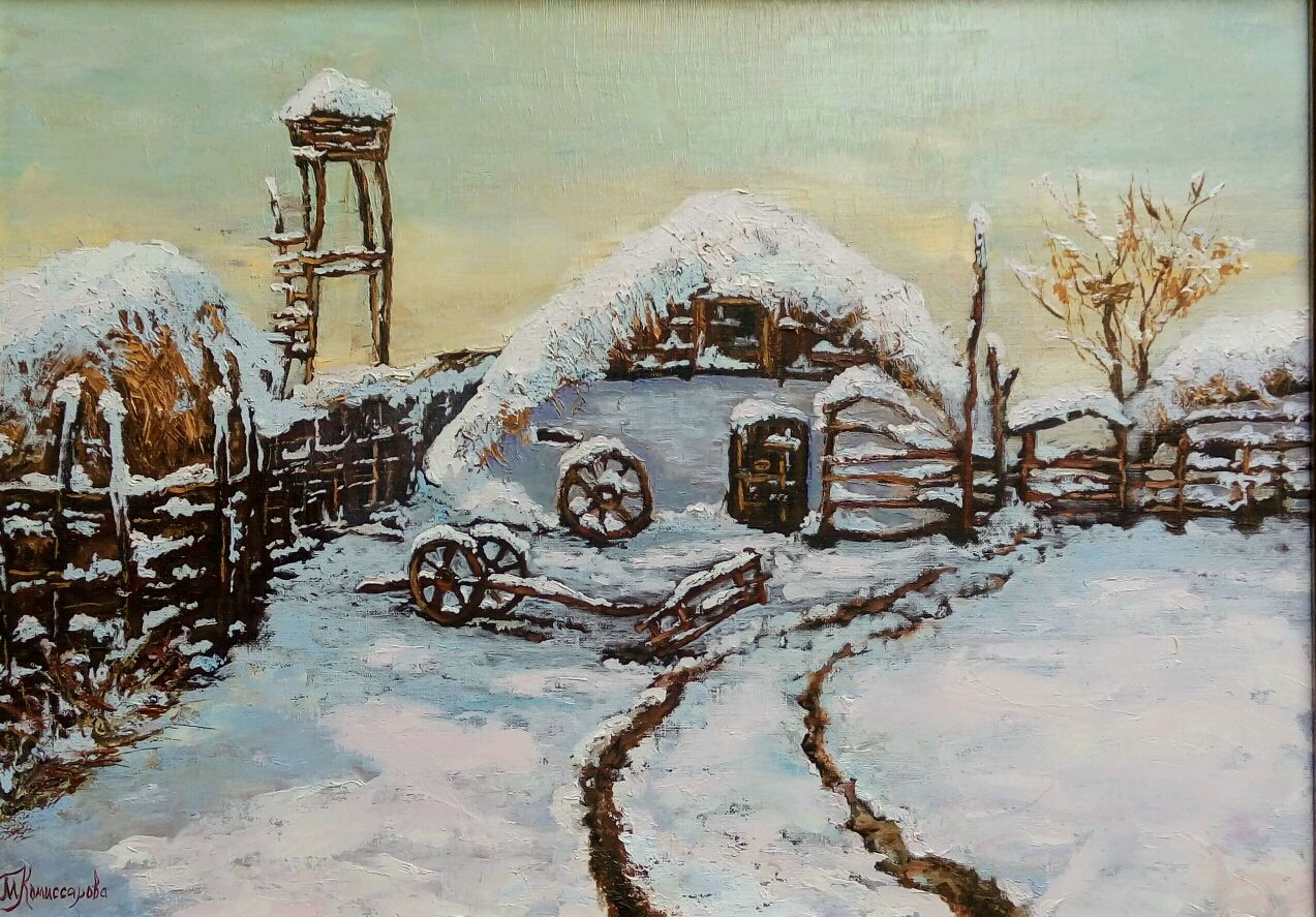 The picture Winter at the Cossack farmstead Decorated, Pictures, Krasnodar,  Фото №1