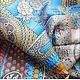 """Шали, палантины ручной работы. Платок из натурального шёлка """"Доспехи Самурая"""" Hermes. Lady AKT. Ярмарка Мастеров. Платок, Самурай"""