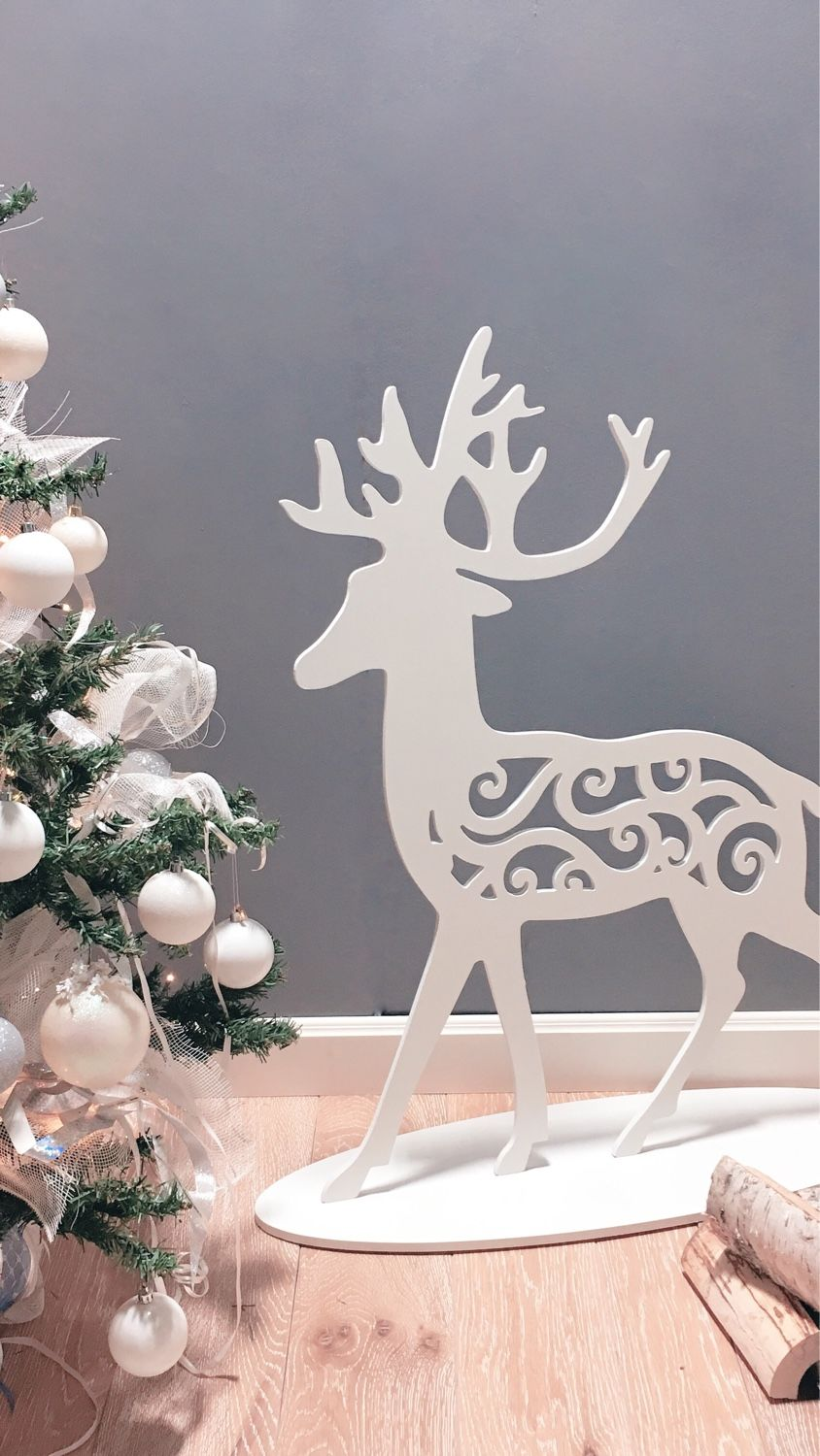 Christmas deer 80 cm, Gifts, Moscow, Фото №1