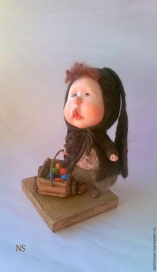 Коллекционные куклы ручной работы. Ярмарка Мастеров - ручная работа. Купить В ожидании чуда.....(повтор). Handmade. Коричневый, малыш