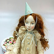 Куклы и игрушки ручной работы. Ярмарка Мастеров - ручная работа Будуарная кукла Саша. Handmade.