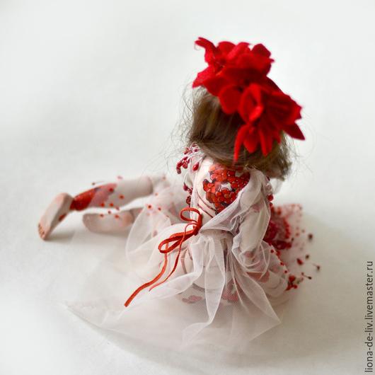 """Одежда для кукол ручной работы. Ярмарка Мастеров - ручная работа. Купить """"Чешуя Кои"""". Handmade. Белый, белое платье"""