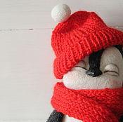 Куклы и игрушки ручной работы. Ярмарка Мастеров - ручная работа Пингвин Лоло. Handmade.
