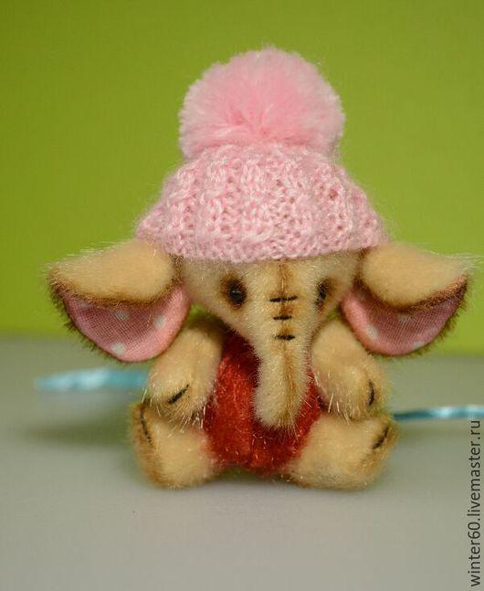 Мишки Тедди ручной работы. Ярмарка Мастеров - ручная работа. Купить Слоник Топотуня. Handmade. Бежевый, слоняшка