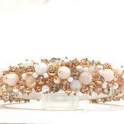 Украшения handmade. Livemaster - original item Bezel with stones (agate). Handmade.