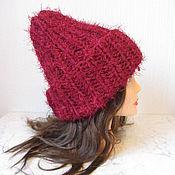 handmade. Livemaster - original item Vishneva hat