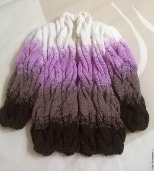 Одежда для девочек, ручной работы. Ярмарка Мастеров - ручная работа. Купить Детский Лало кардиган. Handmade. Рисунок, комбинированный