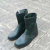 Footwear handmade. Livemaster - original item Boots of genuine leather. Handmade.