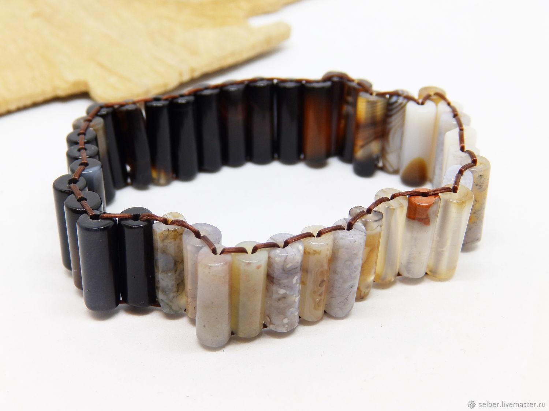 Bracelet Gems Day and night, Bead bracelet, Gatchina,  Фото №1