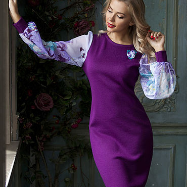 """Одежда ручной работы. Ярмарка Мастеров - ручная работа Платье """"Горный цветок"""". Handmade."""