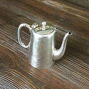 Винтаж ручной работы. Ярмарка Мастеров - ручная работа Винтажный чайник, серебрение Sheffield.. Handmade.