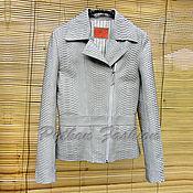 handmade. Livemaster - original item Women`s Python LEMAN jacket. Handmade.