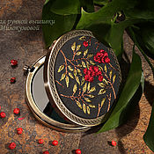 Для дома и интерьера handmade. Livemaster - original item Pocket mirror Rowan. Handmade.