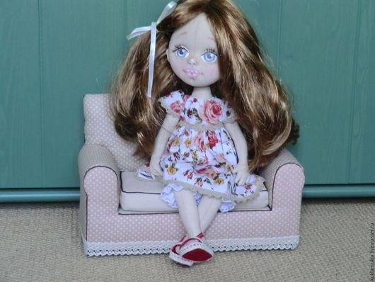 Коллекционные куклы ручной работы. Ярмарка Мастеров - ручная работа. Купить Кукла Анюта - кукла авторская, кукла текстильная, авторская кукла. Handmade.