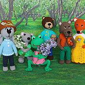 Куклы и игрушки handmade. Livemaster - original item Teremok. Puppet theatre. Fairy-tale characters.. Handmade.