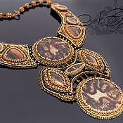 Украшения handmade. Livemaster - original item massive necklace. Handmade.